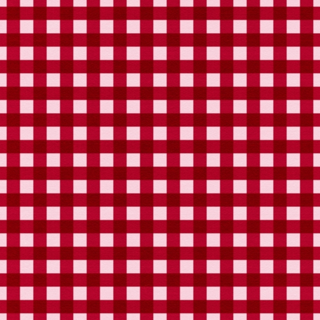 At The Farm - Plaid Paper - Red & Pink