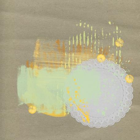 Sunshine & Lemons Paper - Craft Paper & Doily