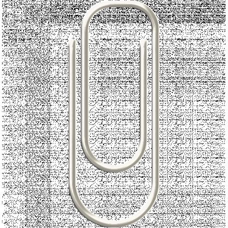 Paper Clip 5 - White