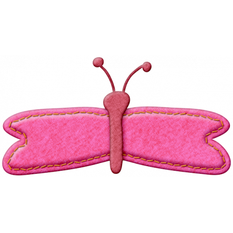 Felt Butterfly 002 - Mexico