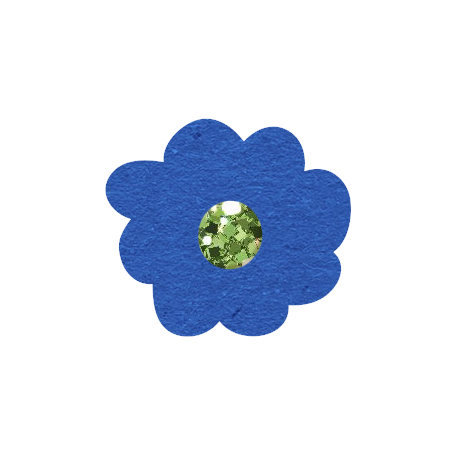Glitter Flower Set 022e - Mexico