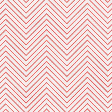 Chevron 03 - Pink & White