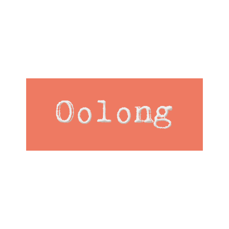 Word Bit: Oolong - Tea Cup