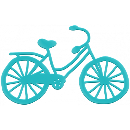 Rubber Bicycle - City Bicycle
