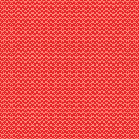 City Bicycle - Ornamental Paper - Red