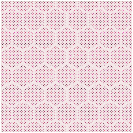 Geometric 22 - Glitter Transparency - Pink