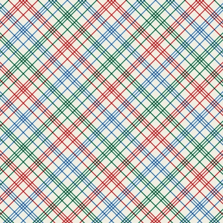 World Cup Plaid Paper