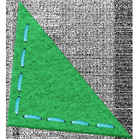 Green Felt Corner