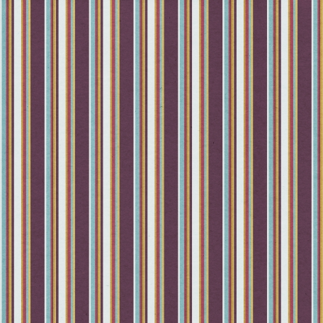 Stripes 106 Paper - Purple & Tan