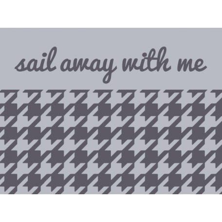 Cruising Elements - Sail Away With Me Label