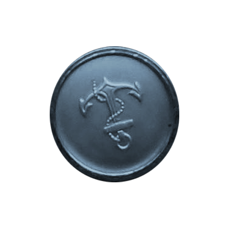 Cruising Elements - Vintage Anchor Button
