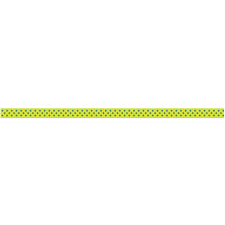 Medium Ribbon - Polka Dots 01 - Blue & Green