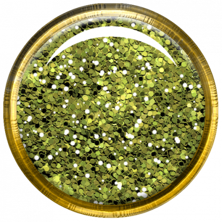Bedouin Glitter Brad - Green