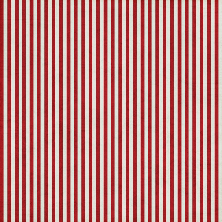 Stripes 54 - Red & White