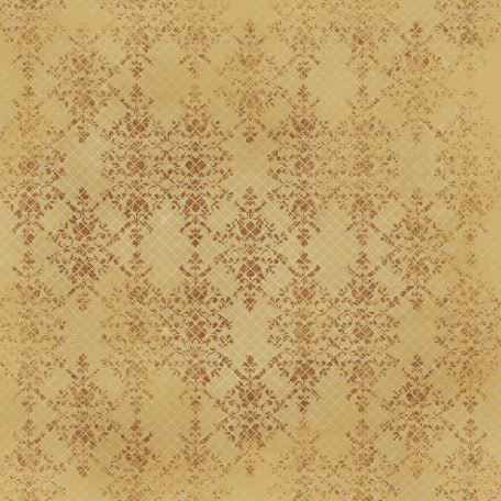 Grid 11 & Damask Tan Paper