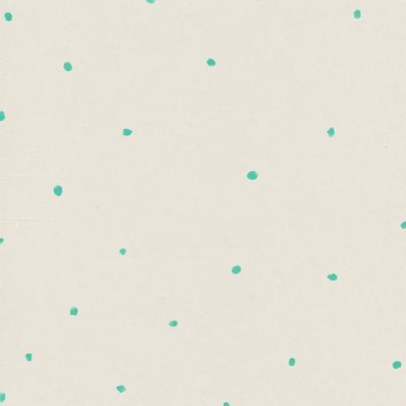 Garden Party Paint Spots Paper - Teal