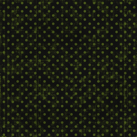Polka Dots 15 - Black & Green
