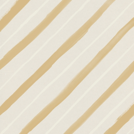 Garden Party Painted Stripes Paper - Brown
