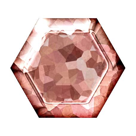 Spring Fields Metal Brad - Light Pink