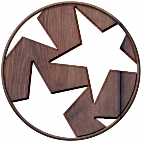 Slovenia Wood - Star Disc