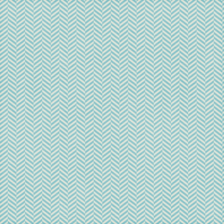 Chevron 05 - Aqua & White