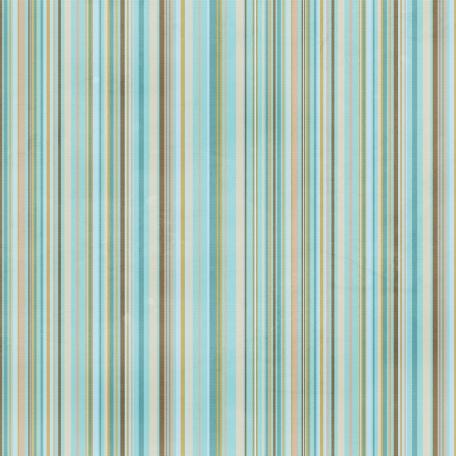 Stripes 104 Paper - Blue