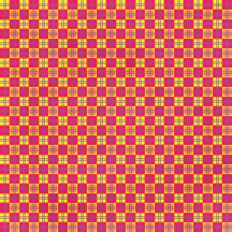 Checkered 01 - Yellow & Pink