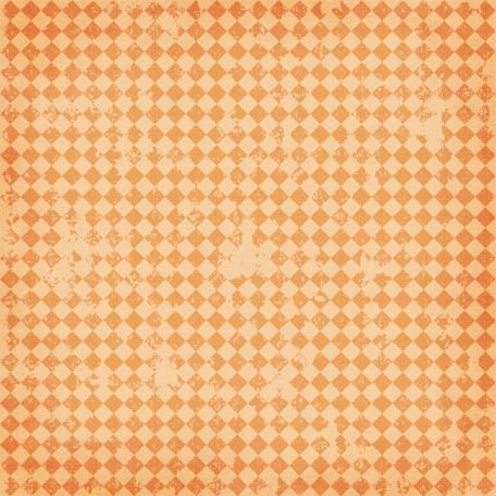 Argyle 13 - Orange