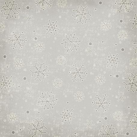 Snowflakes 02 - Gray