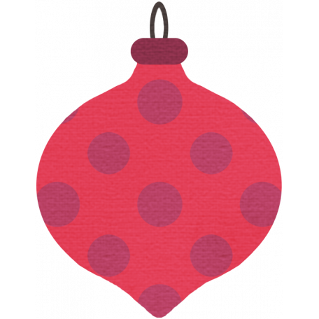 Merry & Bright Christmas Ornament 2