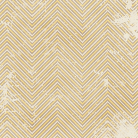 Chevron 03 - Brown & Yellow - Distressed