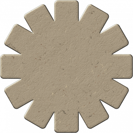 Chipboard Flower