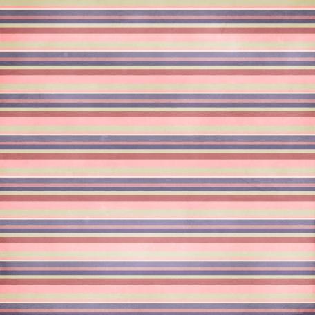 Stripes 39 Paper - Pink & Purple
