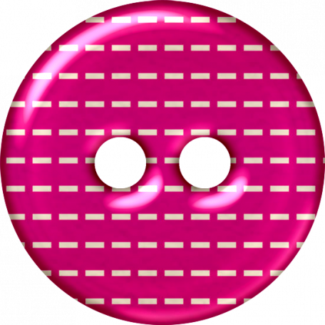 Pink Plastic Button