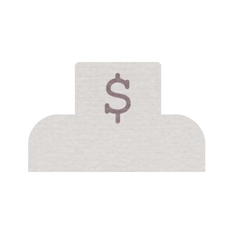 Mini Dollar Tab