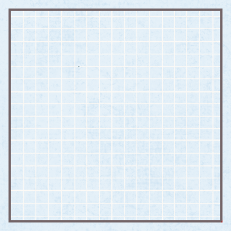 Square Grid Tag - Blue & Gray