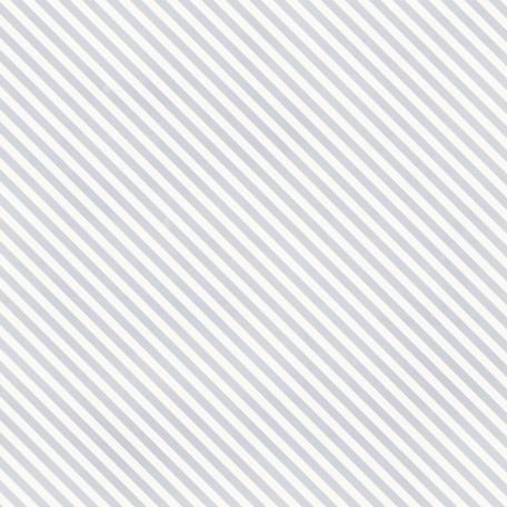 Stripes 73 Paper - White & Blue