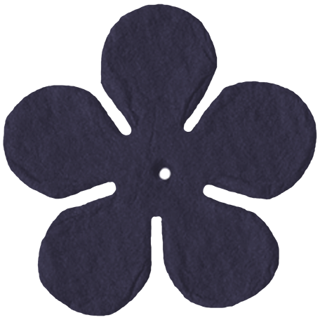 Vienna Paper Flower - Dark Purple