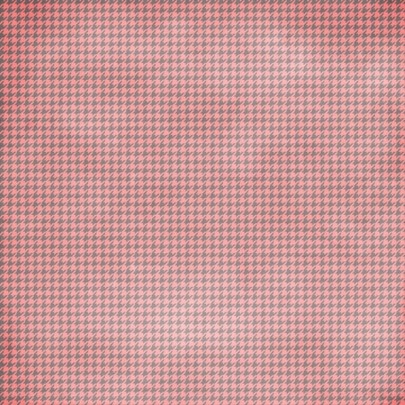 Houndstooth 01 Paper - Pink & Gray