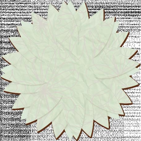 Paper Flower 13 - Mint