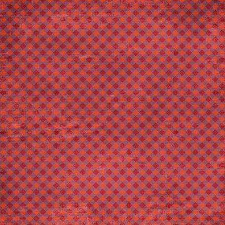 Kitchen Gingham Paper - Purple & Red