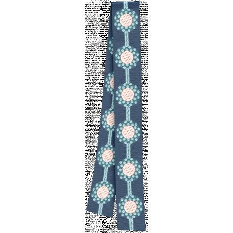 Rainy Days - Folded Blue Ribbon