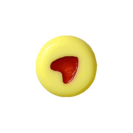 Oh Baby Baby - Yellow Heart Bead 1