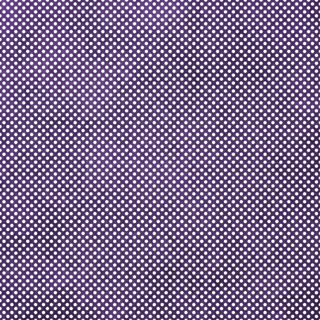 It's Elementary, My Dear - Purple Polka Dots 01