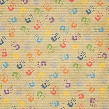 It's Elementary, My Dear - Handprints Paper