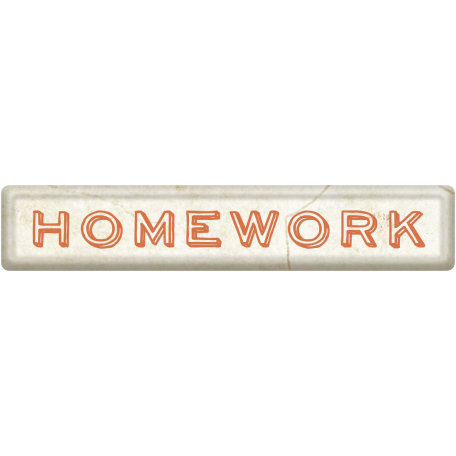Homework Word Art 02