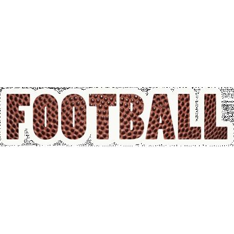 Football Word Art