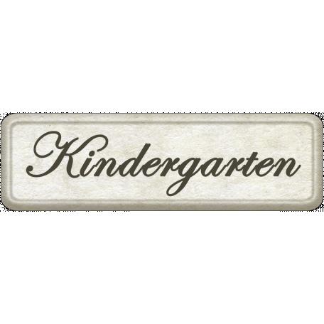 Kindergarten Word Art