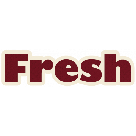Fresh Word Art