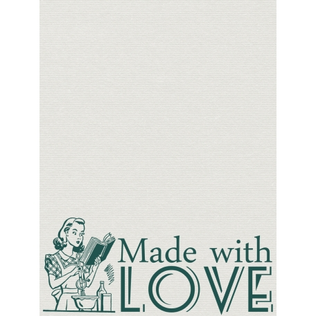Made With Love Journal Card